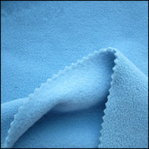 00% Polyester Printed Polar Fleece for Blanket, Garment Fabric, DTY150d/144f. pictures & photos