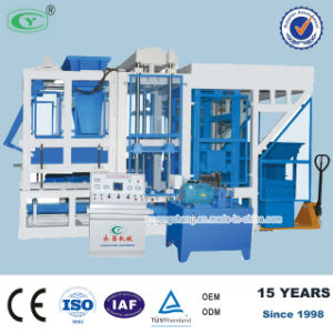 Fully Automatic Burn-Free Block Making Machine (QT6-15)
