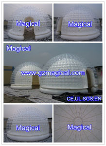 Double Layer Inflatable Bubble Transparent Tent for Sale (MIC-690) pictures & photos