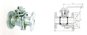 Sanitary Stainless Steel API Ball Valve pictures & photos