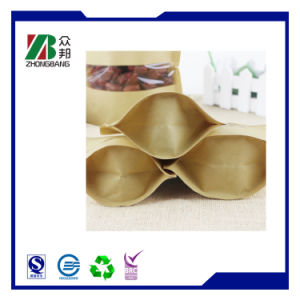 High Quality Resealable Fast Food Paper Bag pictures & photos
