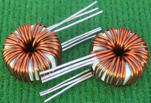 Customied Big Current Choke Coil Inductor, Toroidal Choke Coil, Iron Core Power Inductor pictures & photos