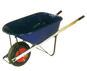 Construction Square Metal Handle Wheel Barrow