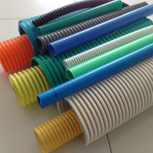 PVC Hilex Suction Hose/PVC Hose/Smooth PVC Suction Hose pictures & photos