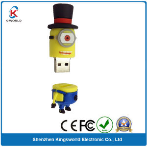 2GB PVC Cartoon Usbs with Factory Prices
