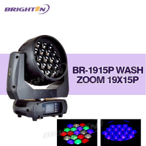 19*15W Full and Each Pixel Controlled Wash LED Moving Head pictures & photos