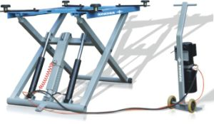 2.8T Movable Scissor Lift (QJY-K2800)