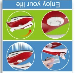 Sy-602dual Voltage Travel Steam Iron Teflon Coated with Vertical Steaming and Burst Steaming pictures & photos