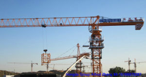 Hongda 6 Ton Flat Top Tower Crane Tc5511 pictures & photos