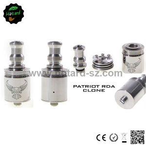 Rebuildable Vaporizer Stainless Steel Rda Patriot Atomizer