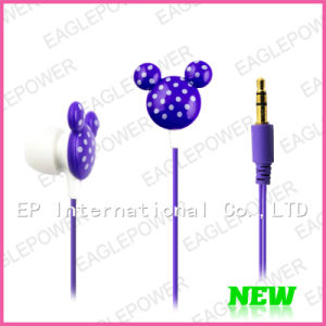 Stereo Earpiece Headphone With Cute Shape for Mickey