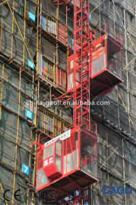 High Quality&Efficiency New Design CE Approved Construction Hoist (SCD200/200) pictures & photos
