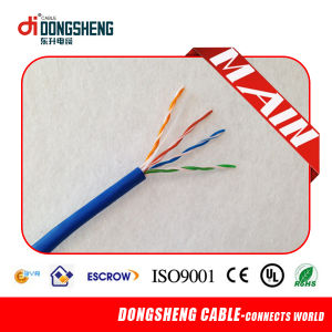 Factory Supply for Fire Resistant Cable 1000FT 0.57mm 23AWG 4 Pairs UTP CAT6 Cable pictures & photos