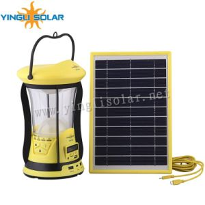 Solar Camping Lantern with Mobile Charger MP3 FM Function pictures & photos