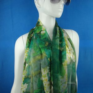Chiffon Silk Scarf for Lady