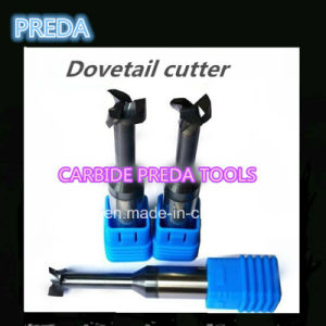 Carbide 3 Flutes Customized Dovetail Cutter Tools pictures & photos