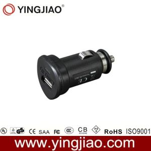 5V 2.1W 10W Black DC USB in Car Charger pictures & photos