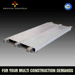 Scaffolding Wide Planks, Scaffolding Walking Board, Galvanized Steel Planks pictures & photos