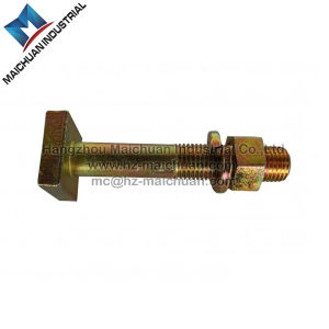 Carbon Steel, Stainless Steel/Square/ T Head Bolt with Hex Nut and Washer
