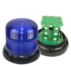 LED Warning Beacon Light with Magnetic Mount
