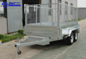 China Steel Material Estimable Galvanized Utility Trailer (SWT-TT85) pictures & photos