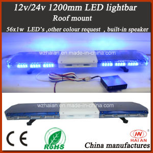 High Bright LED Police Lightbar with Built-in Speaker (TBD-GA-810L-BS) pictures & photos