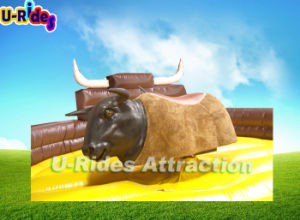 Soft Head Inflatable Mechanical Bull for Sale pictures & photos