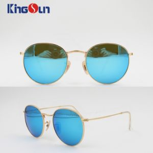 High Level Classic Metal Sunglasses with Wire Temple Ks1143 pictures & photos