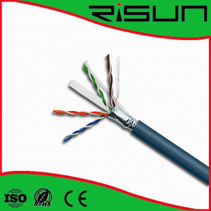 Ethernet Cable, CAT6 Cooper FTP Cable, CAT6 LAN Network Cable Wire pictures & photos