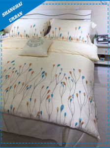 Cotton Polyester Embroidery Duvet Cover Set pictures & photos