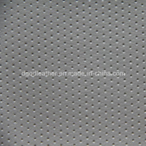 Top Sale Hole Design for PU Leather (QD-53232) pictures & photos