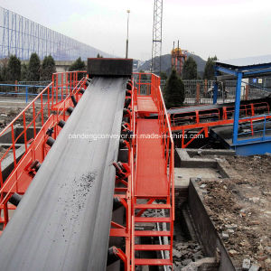 Flame Resistant Conveyor Belt with Solid Textile Carcass