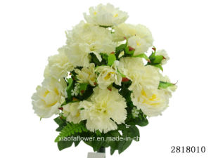 Artificial/Plastic/Silk Flower Carnation/Peony Mixed Bush (2818010) pictures & photos