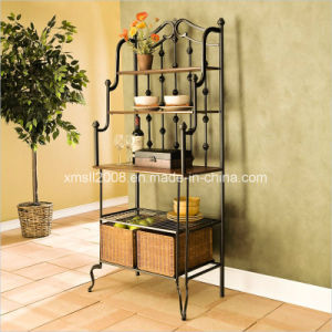 Baker′s Rack Kitchen Rack Metal Display Rack with CE (G-KB06) pictures & photos