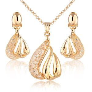 China Elegant Earring And Necklace Jewelry Set Saudi Arabia