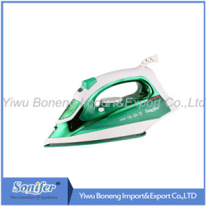 Electric Travelling Steam Iron Sf-9006 Electric Iron with Full Function (Green)