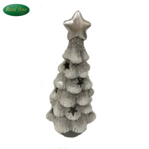 Wholesale Christmas Decorations Ceramic Christmas Tree with Light