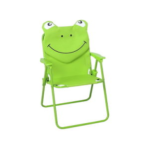 Green Frog Folding Beach Chair with Armrest (MW11036) pictures & photos