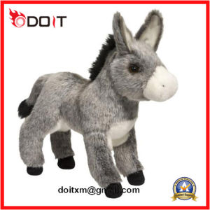 Grey Standing Toy Plush Toy Donkey pictures & photos