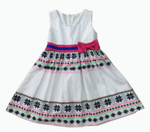 Fashion Girl Dress, Popular Children Clothing (SQD-136)