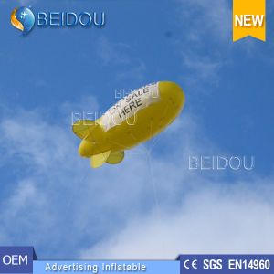 PVC Lighted Air Helium Balloon Advertising Inflatable RC Blimp Airship