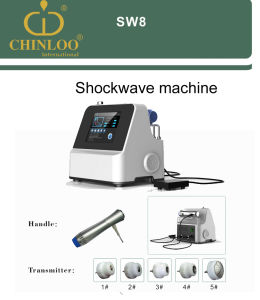 Sw8 2017 Shock Acoustic Wave Therapy Machine for Pain Therapy pictures & photos