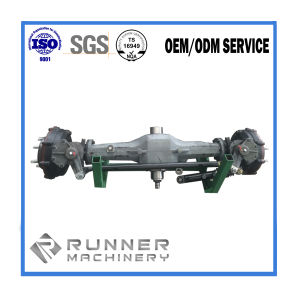 OEM Iron Mould Tectorial Sand Casting Drive Shaft/Front Axle/Drive Axle for Truck/Car/Tractor