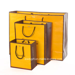 Logo Customized Promotinoal Shopping Bag / Clothes Carrier Paper Bag pictures & photos