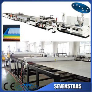 PP PC Plastic Hollow Sheet Production Line / Extrusion Machine pictures & photos