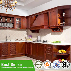 New Model PVC Kitchen Modular Kitchen Cabinet pictures & photos