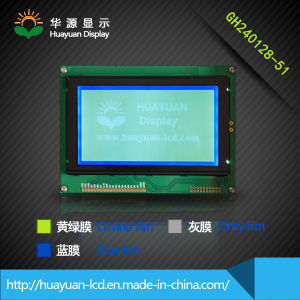 Micro-Display 240X128 LCD Module Ks0107 with Spi Interface