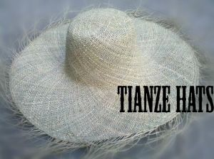 Natural Straw Untwist Seagrass Hat Body pictures & photos