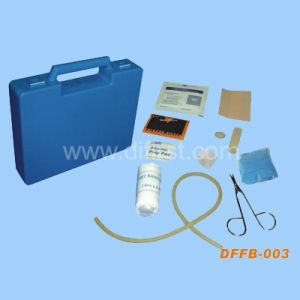 Home/Office/Car First Aid Box with Basic Medical Equipment (DFFB-003) pictures & photos
