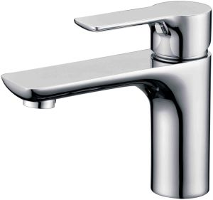 Fashion Brass Single Hole Single Handle Basin Faucet Tap in Chrome (22501)